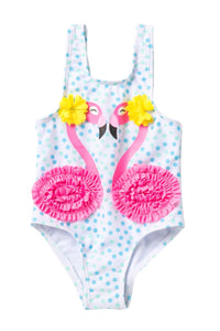 Citizen Kidette Wetsuitclub Flamingo  One-Piece Swimsuit