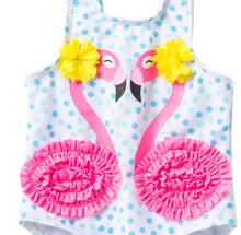 Load image into Gallery viewer, Citizen Kidette Wetsuitclub Flamingo  One-Piece Swimsuit