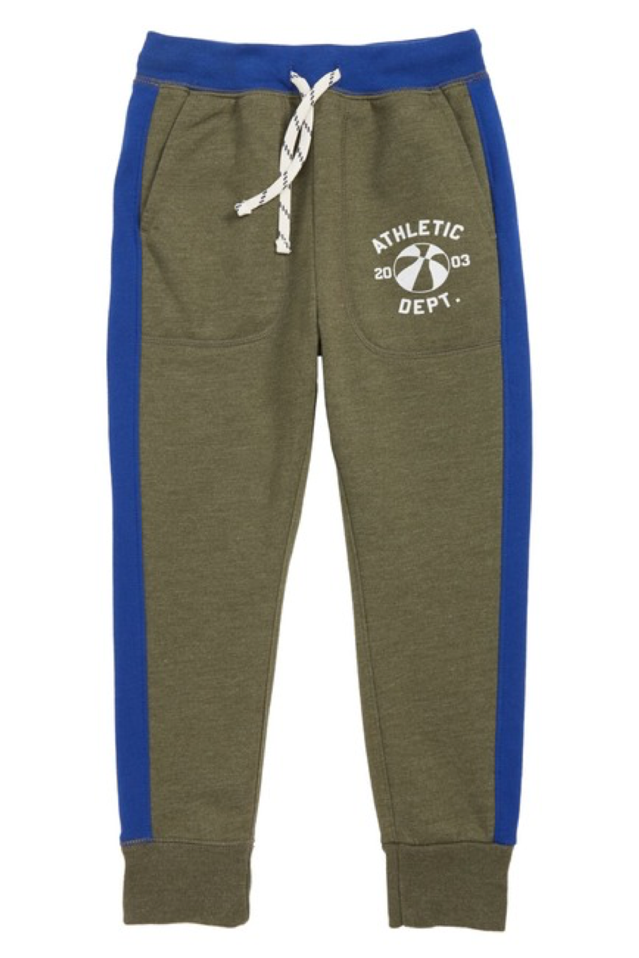 crewcuts Boys' Printed Sweatpants (Athletic Dept. in Olive)