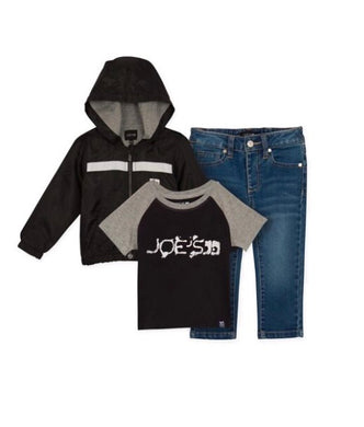 Joe's Jeans 3-Piece Windbreaker & Pants Set