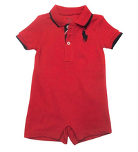 Load image into Gallery viewer, Ralph Lauren Cotton Mesh Polo Shortall
