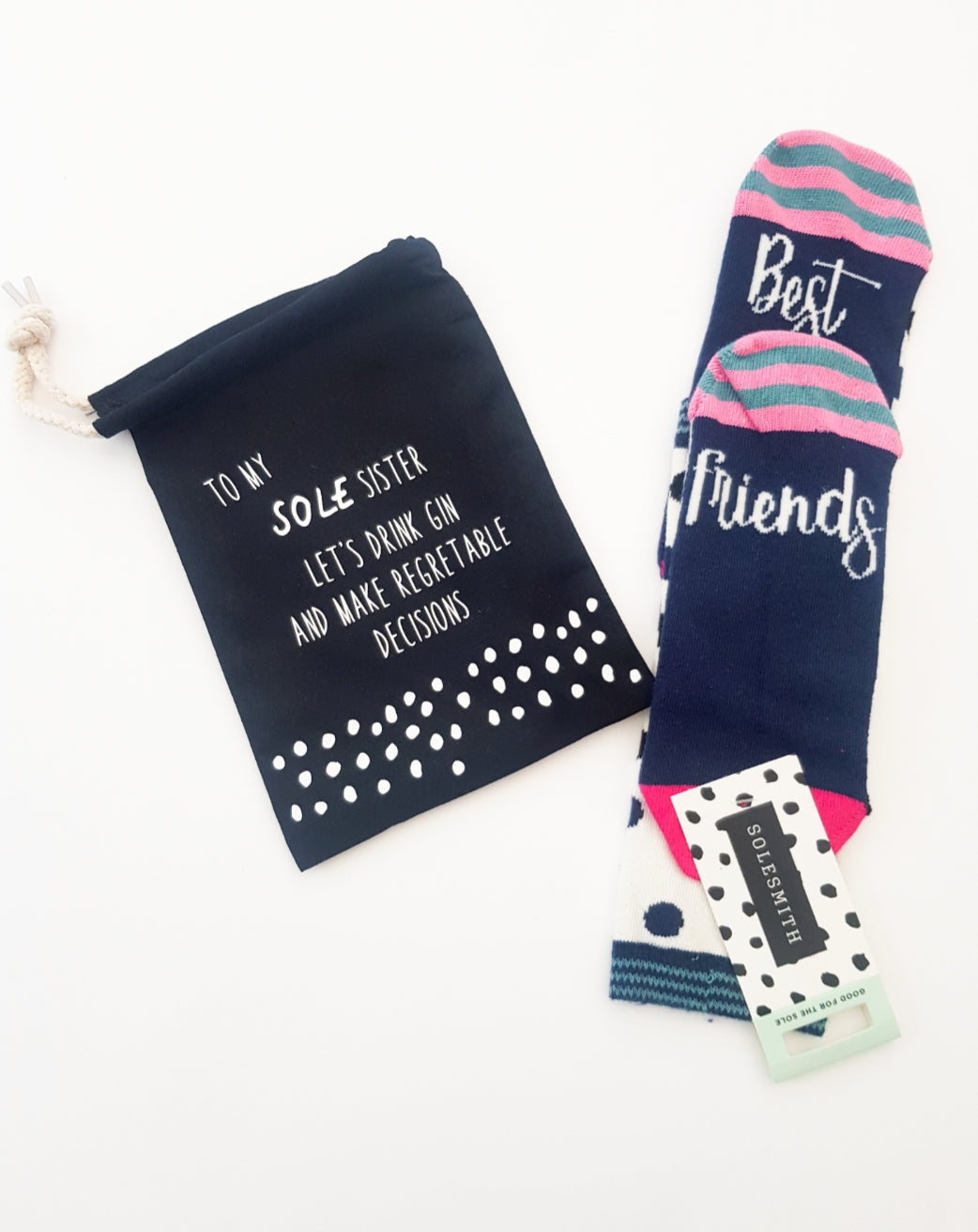 Sole sister sock bag