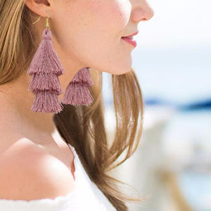 Bohemian Tassel Earrings