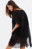Beachedit Black Amnesia Kaftan