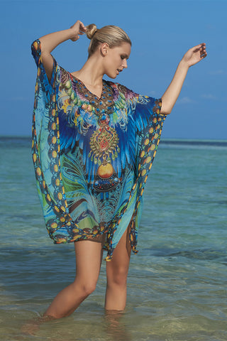 Schwartz Multi Colour Poncho