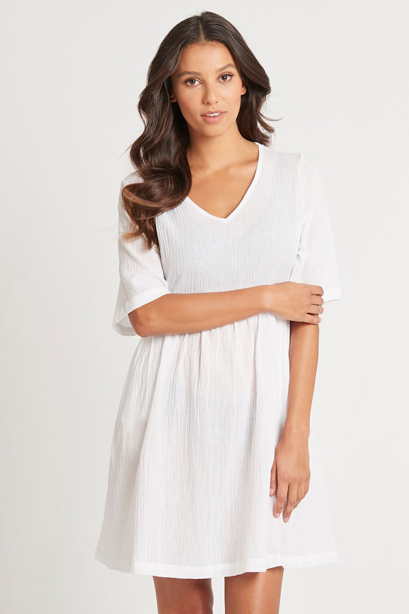 Essentials White Dress