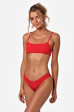 Měinu Bikini Top in Red