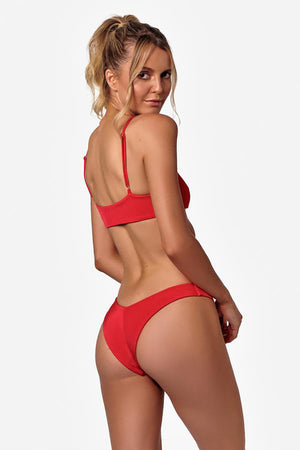 Měinu Bikini Bottom in Red