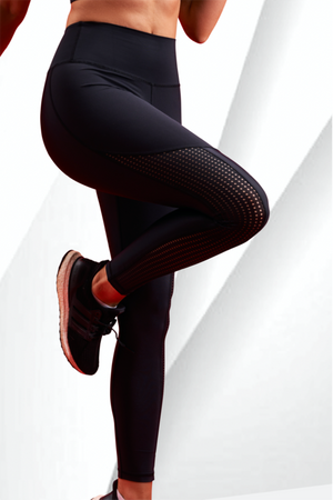 ZOVARI Cyclone Leggings Black