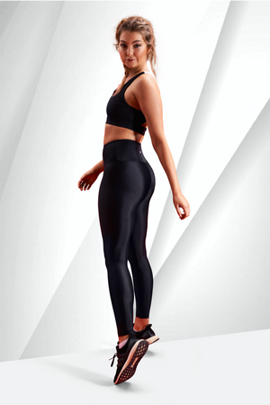 ZOVARI Lightning Leggings Black