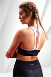 ZOVARI Cyclone Sports Bra Black