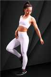 ZOVARI Lightning Leggings White