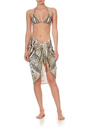 Gates of Glory Short Tassel Sarong