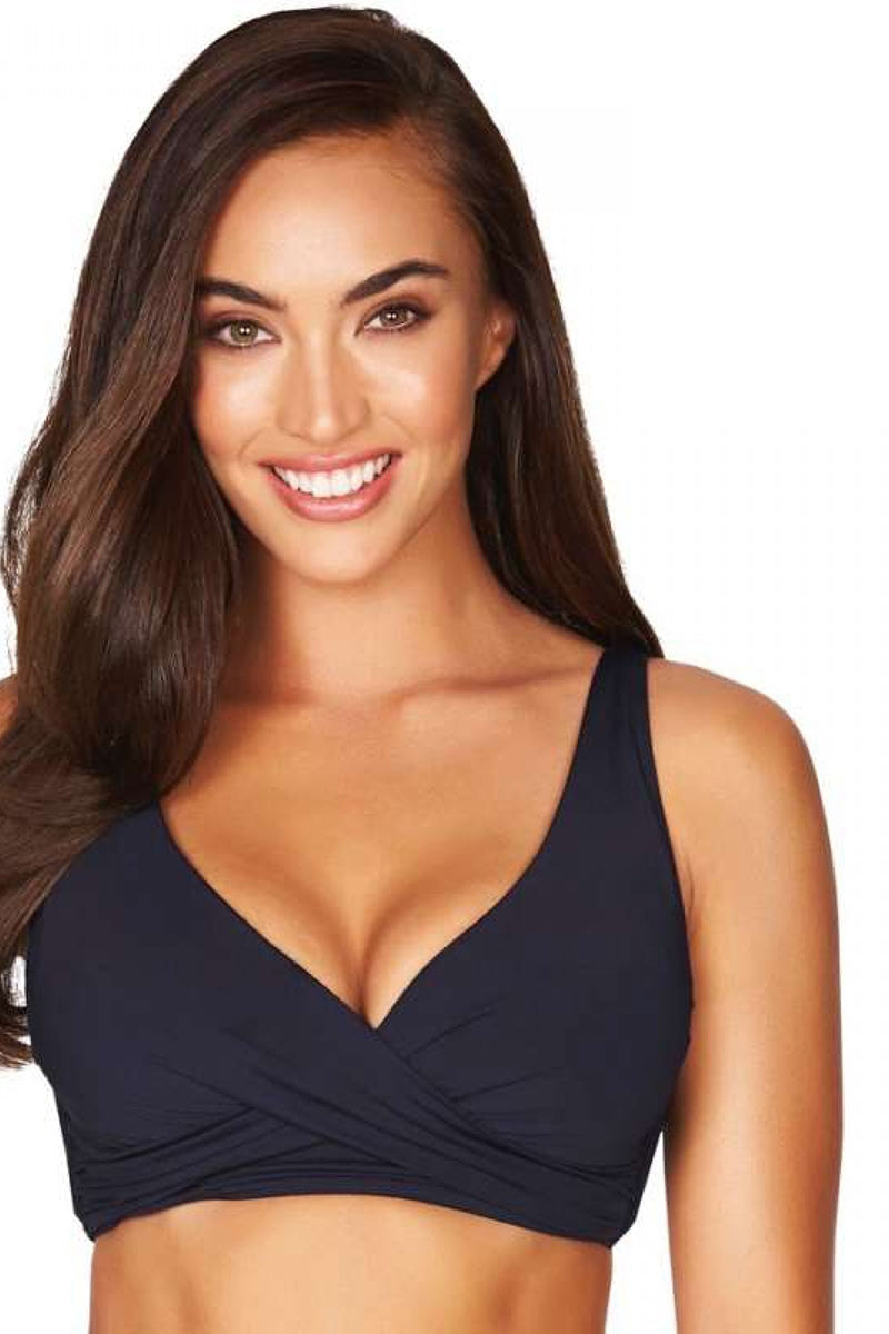 Essentials Cross Front Multifit Night Sky Bra
