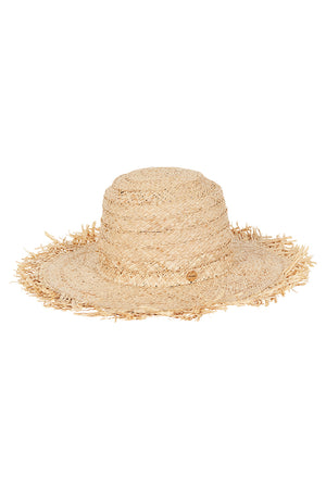 Shady Lady Fringed Beach Hat