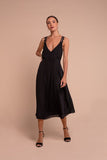 Aida Midi Dress Black