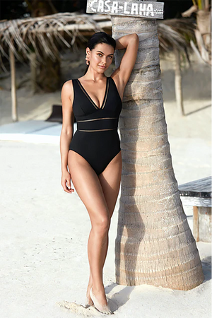 Essentials Spliced One Piece