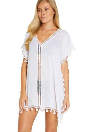 Resort Moroccan White Kaftan