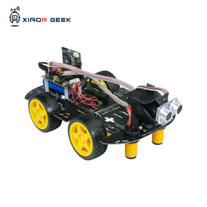 XiaoR Geek Education robot car kit with micro:bit graphical programmable