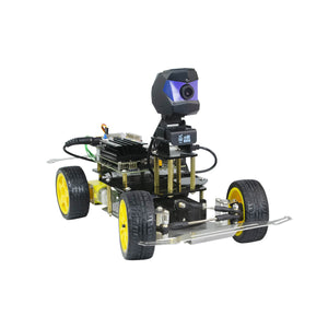XiaoR GEEK XR-F1 Donkey Car with Raspberry Pi 4B