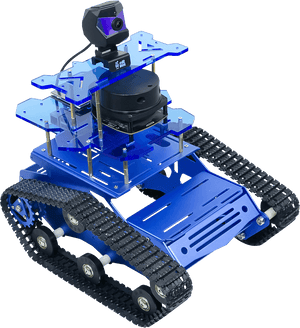 XiaoR GEEK ROS SLAM  Robot Car with Laser Radar for Raspberry Pi 4B