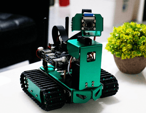 Jetbot AI smart robot car  with HD Camera Coding with Python for Jetson Nano for programming learning
