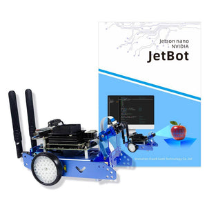 XiaoR GEEK  JetBot AI smart robot car Powered by NVIDIA Jetson Nano