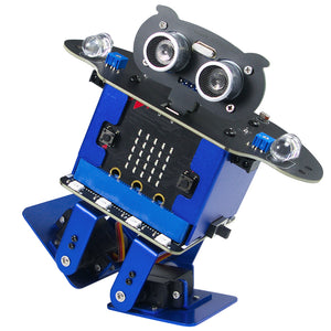 XiaoR GEEK Micro: bit HappyBot dancing smart robot STEAM education for programming learning