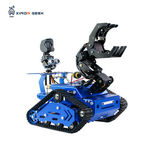 XiaoR GEEK TH-X crawler-type robot car with Raspberry Pi for educational