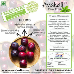 IMPORTED PLUMS - avakali-farm-fresh
