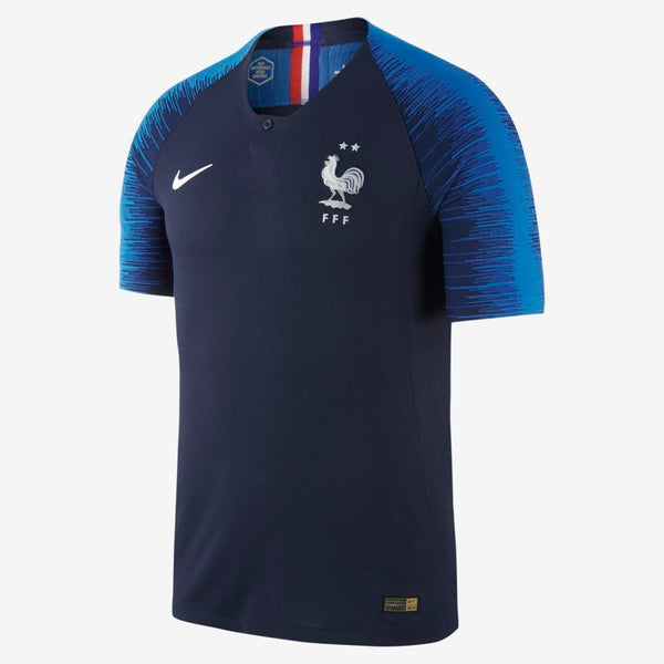 "Maillot de football 2018 FFF Stadium Home ""2 étoiles """