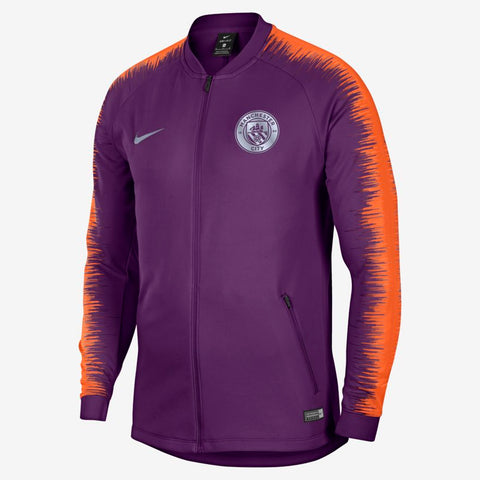 Manchester City FC Anthem Violet nuit/Orange sécurité