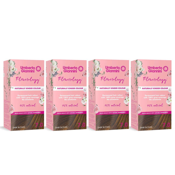 Flowerology Naturally Kinder Vegan Colour Dark Blonde 7.0