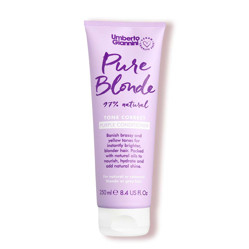 Flowerology Violet + Chamomile Flower Vegan Blonde Conditioner