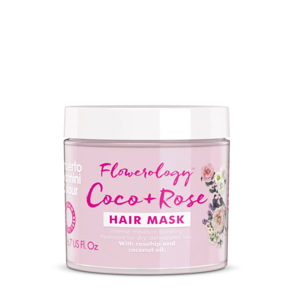 Flowerology Coco + Rose Vegan Treatment Mask