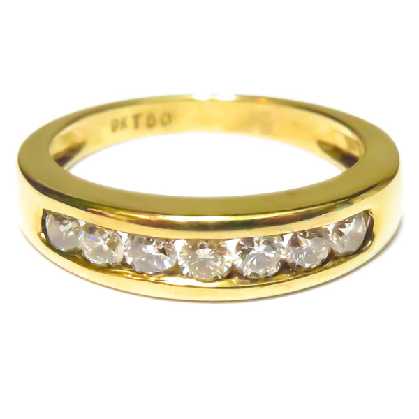 Half Carat Eternity Ring