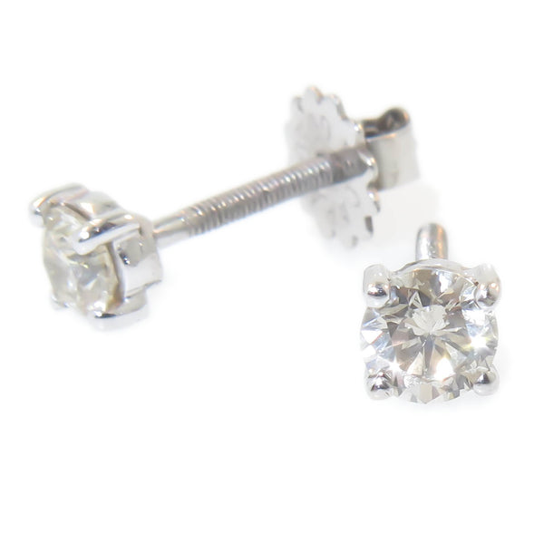 Screw Back Diamond Studs