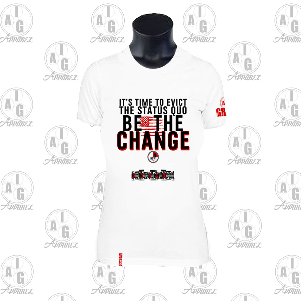 Be The Change Ladies Tee