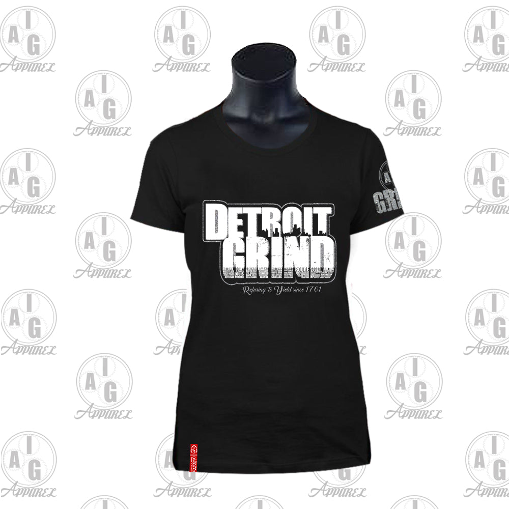 Detroit Grind Ladies Tee