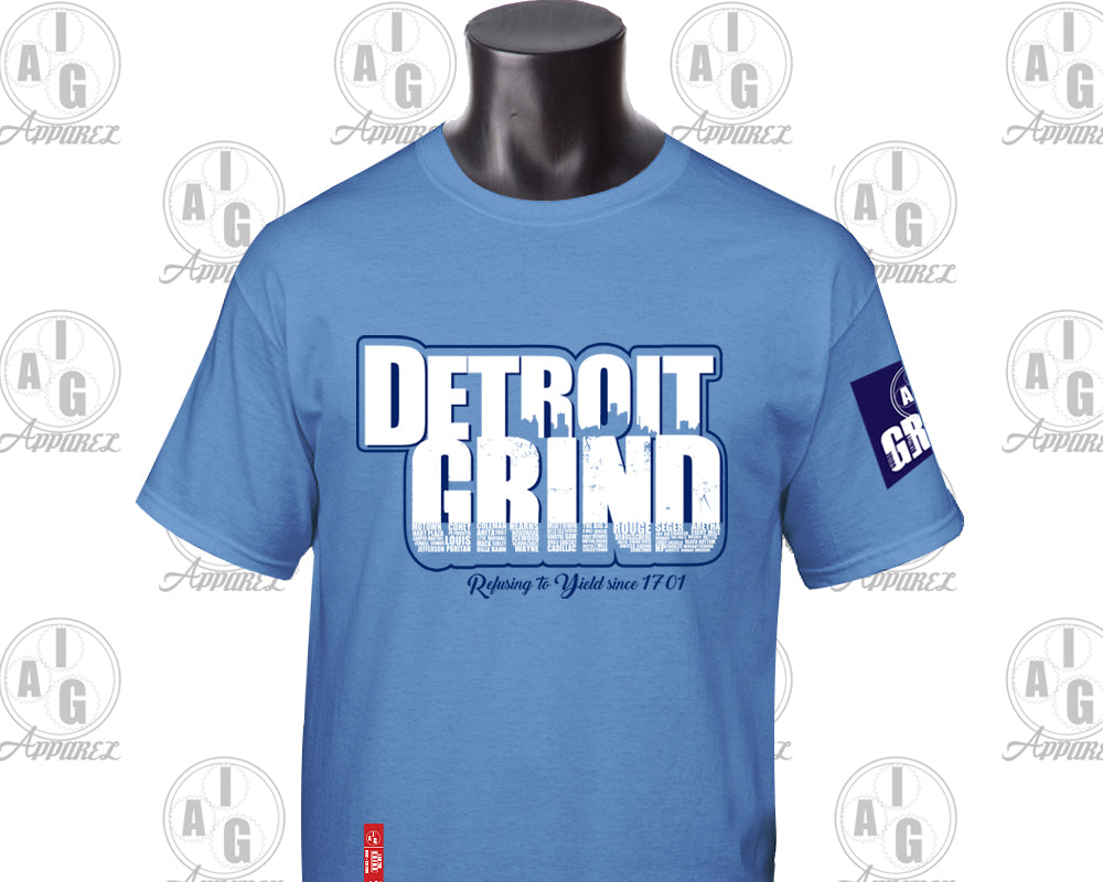I Am The Grind - Detroit Grind Tee