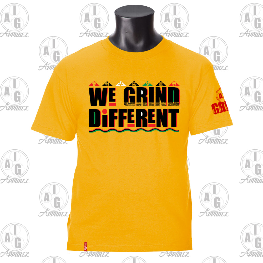 We Grind Different Men's Tee