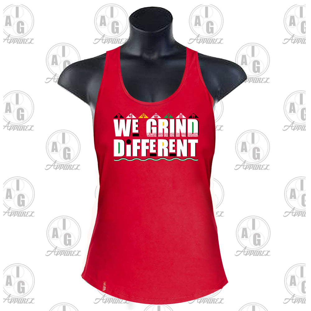 We Grind Different Ladies Tank