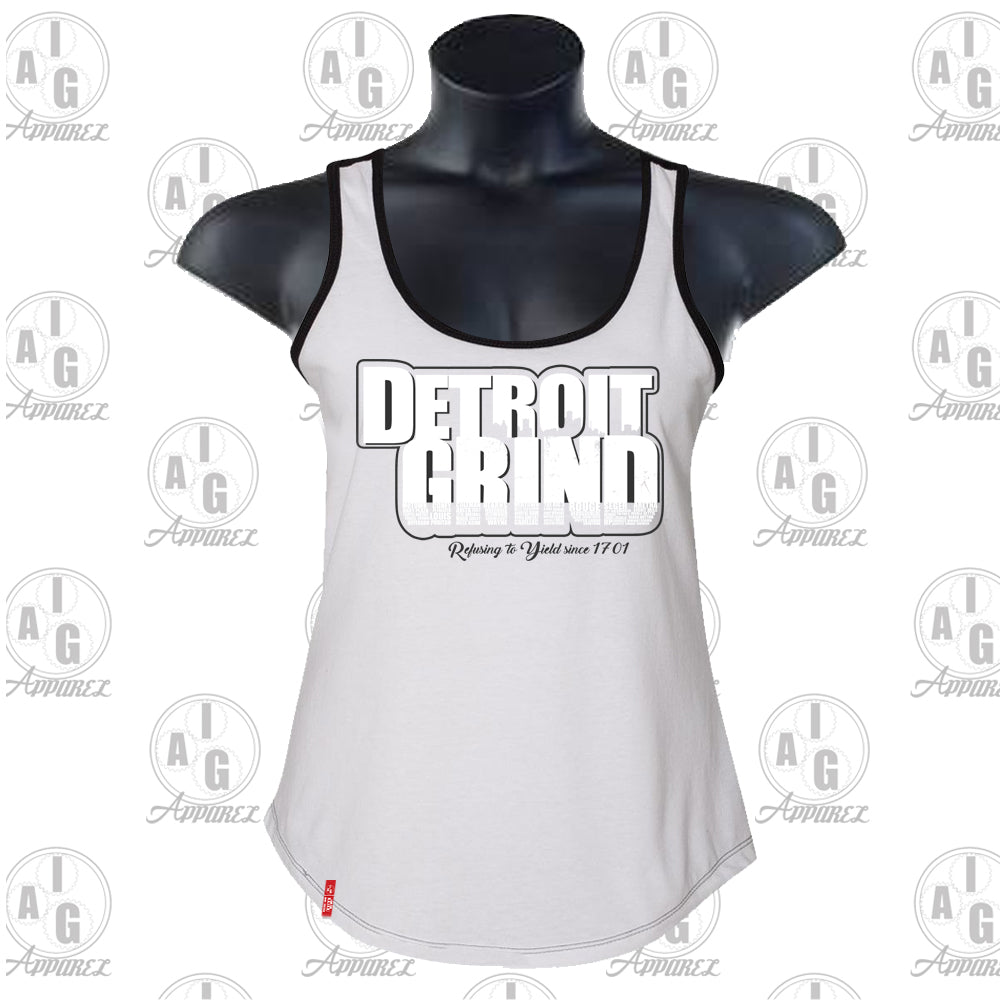Detroit Grind Ladies Tank