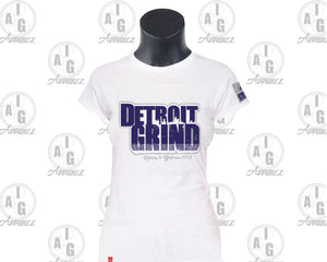Detroit Grind Ladies Tee Plus Special