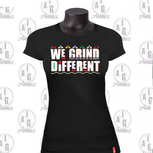 We Grind Different Ladies' Tee