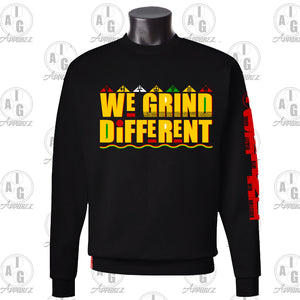 We Grind Different Crew Neck Sweater