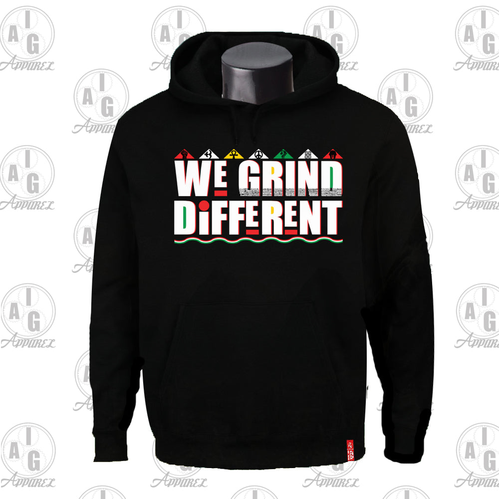 We Grind Different  Big and Tall Hoodie