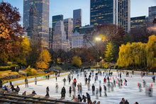 Load image into Gallery viewer, Wollman Rink color photograph by Russel Bach fine art giclée print
