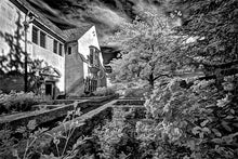 Load image into Gallery viewer, Greystone mansion infrared photograph by Alex Leykin fine art giclée print