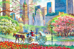 Spring in Central Park by Roustam Nour fine art giclée print